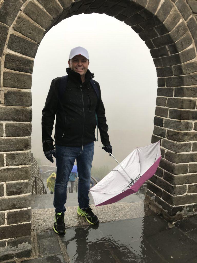 Rob at China's Great Wall